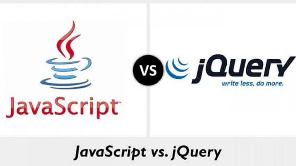 ความแตกต่าง javascript และ jquery