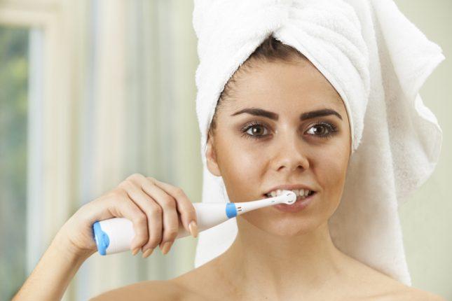 แปลงสีฟันไฟฟ้า