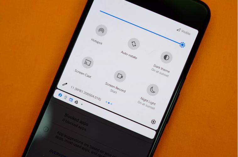 การอัพเดต Android 11