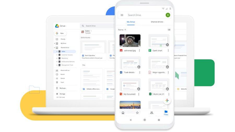 Google มีการจำกัดพื้นที่ ในการจัดเก็บข้อมูล