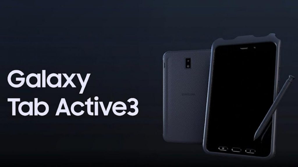 มือถือรุ่น Galaxy Tab Active 3