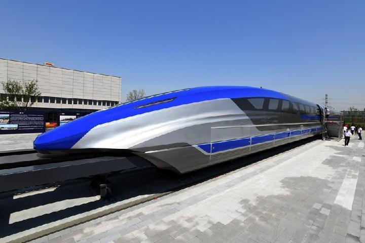 ประเทศจีนเปิดตัวต้นแบบ รถไฟความเร็ว