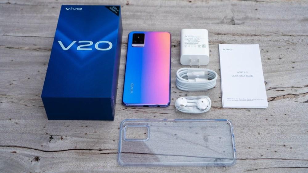 สมาร์ทโฟน Vivo รุ่น V20 ความคุ้มค่าและราคา