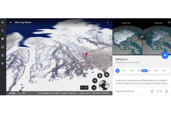 Google Earth เป็นเทคโนโลยี Timelapse ที่สุดยอด