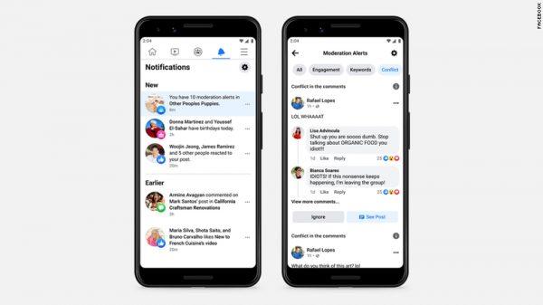 ระบบ AI ของ Facebook นั้นจะทำการหลีกเลี่ยงข้อความที่จะส่งผลเสียต่อผู้ใช้งาน
