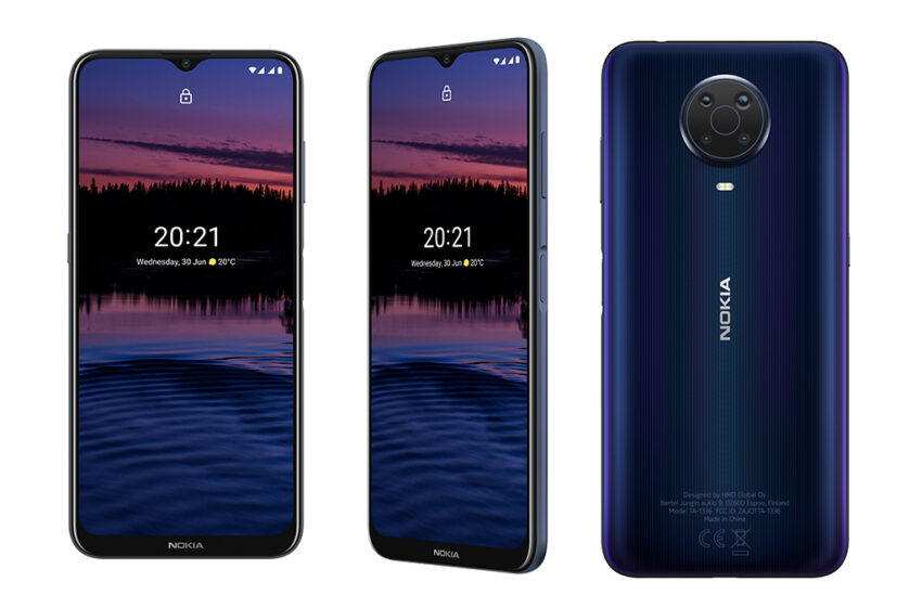 Nokia G20 สมาร์ทโฟนแบตเตอรี่ใหญ่